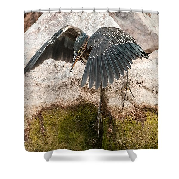 Attack Mode Shower Curtain