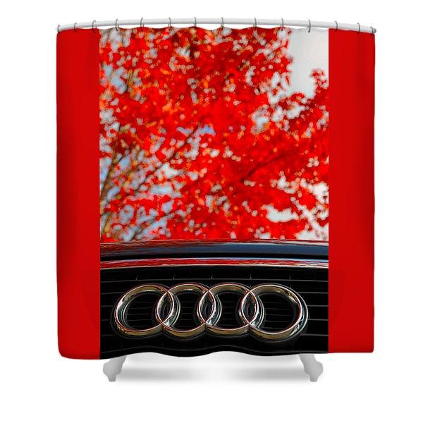 Audi Shower Curtain