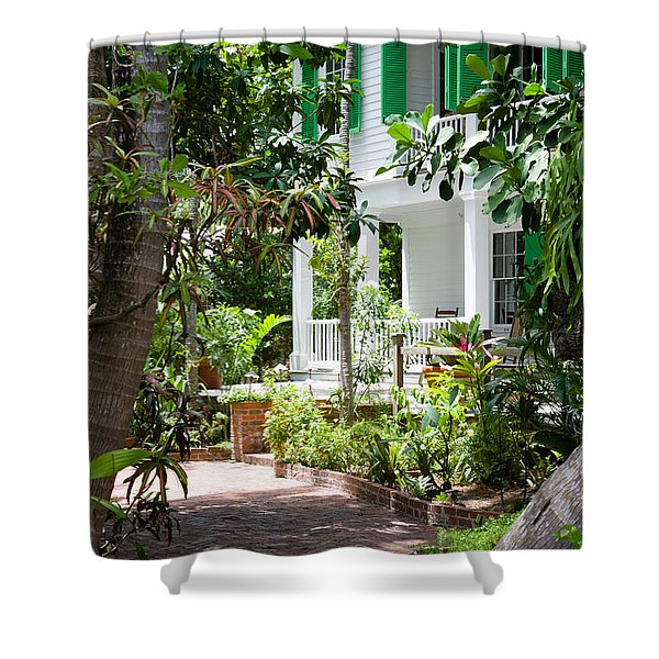 Audubon House Entranceway Shower Curtain