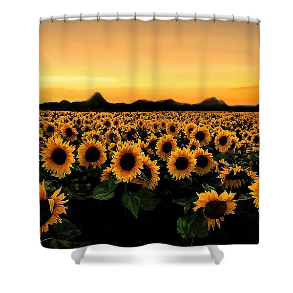August 2015 Shower Curtain
