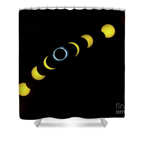 August 2017 Shower Curtain