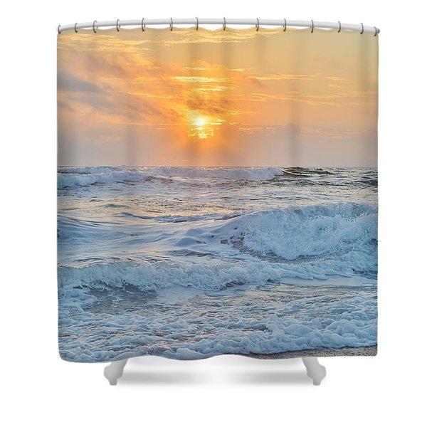 August 28 Sunrise Shower Curtain