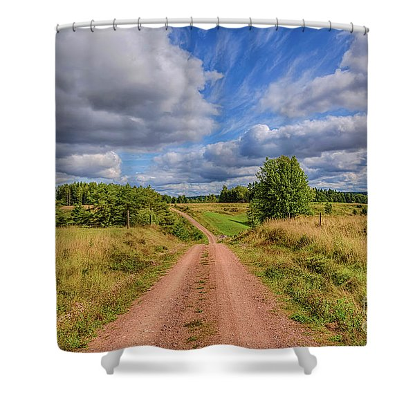 August Countryside 4 Shower Curtain