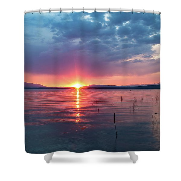 August Eye Shower Curtain