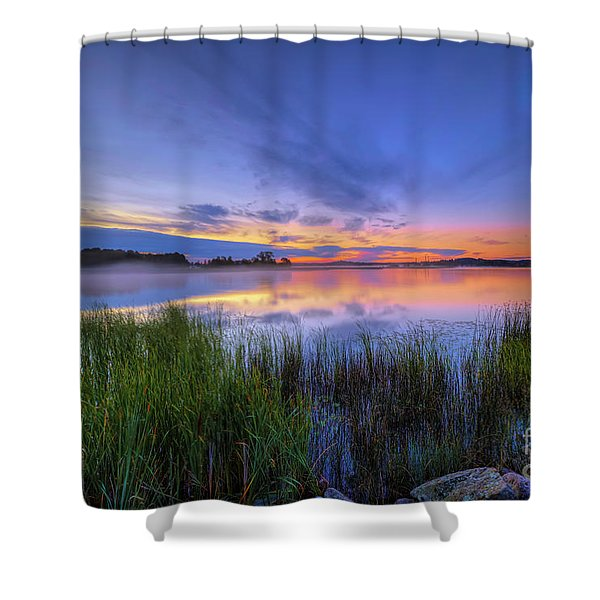August Morning Shower Curtain