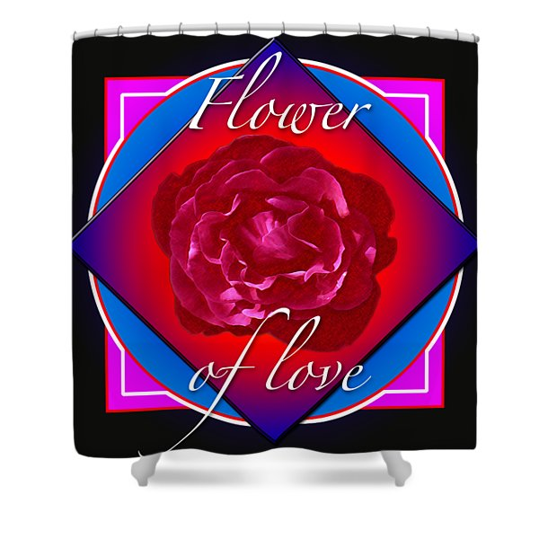 August Rose Shower Curtain