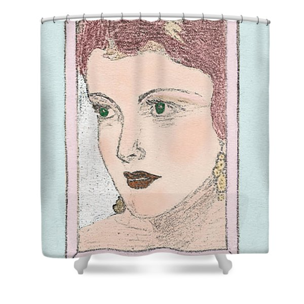 Aunt Edie Shower Curtain
