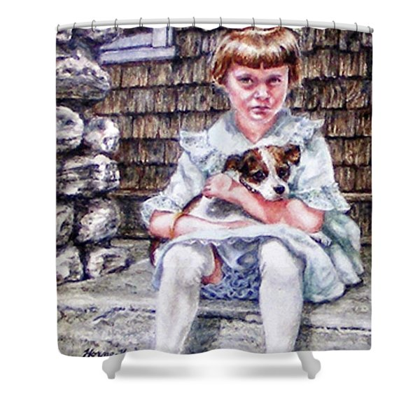 Aunt Eve 1919, Finders Keepers Shower Curtain