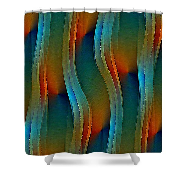 Aurora Oil Shower Curtain