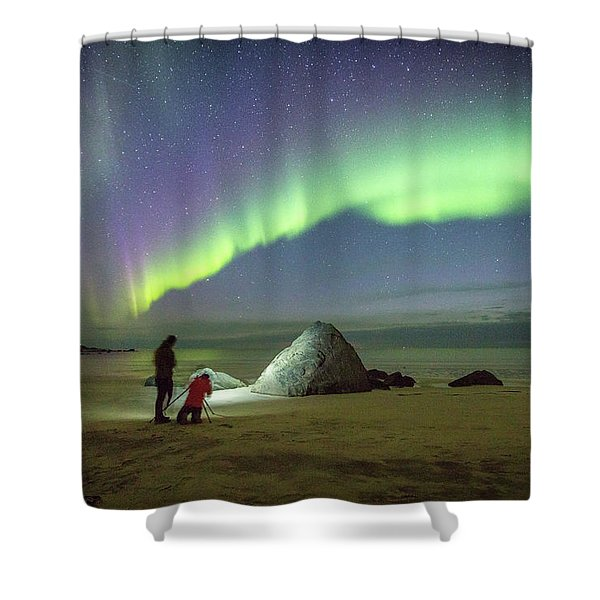 Aurora Photographers Shower Curtain