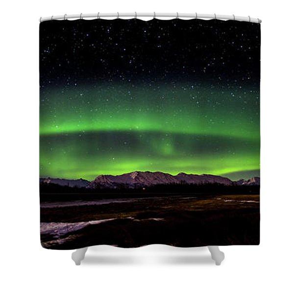 Aurora Spiral Shower Curtain