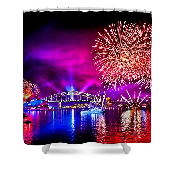 Aussie Celebrations Shower Curtain