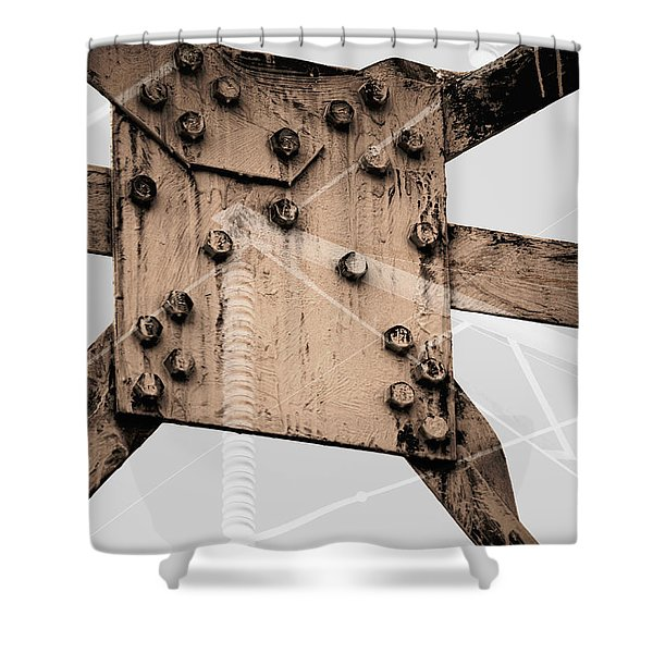 Austerity Of Form Shower Curtain