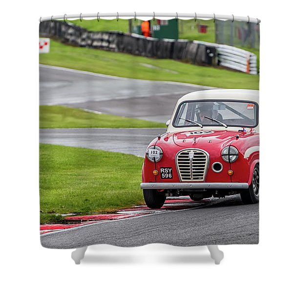 Austin A35  Shower Curtain