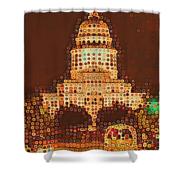 Austin Capitol At Night Shower Curtain
