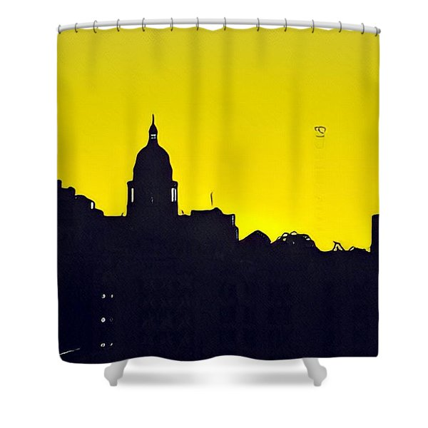 Austin Capital At Sunrise Shower Curtain