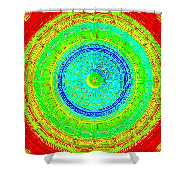 Austin Capitol Dome - 2 Shower Curtain