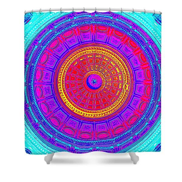 Austin Capitol Dome - 4 Shower Curtain