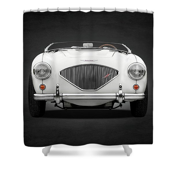 Austin Healey 100 Le Mans Shower Curtain