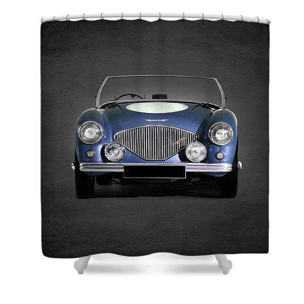 Austin Healey 100 Shower Curtain