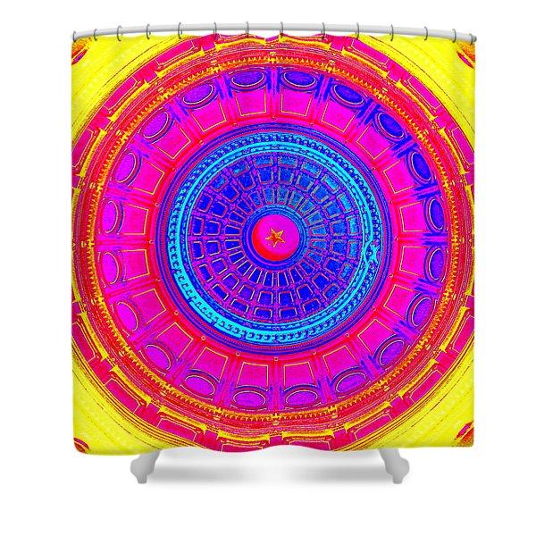 Austin Capitol Dome - 1 Shower Curtain