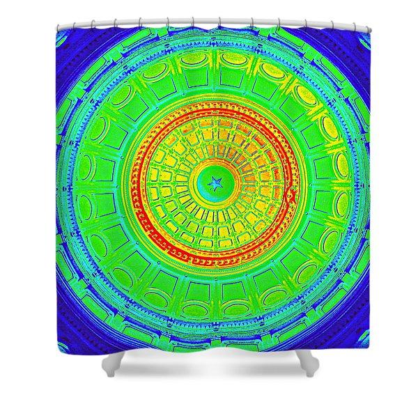 Austin Capitol Dome - 3 Shower Curtain