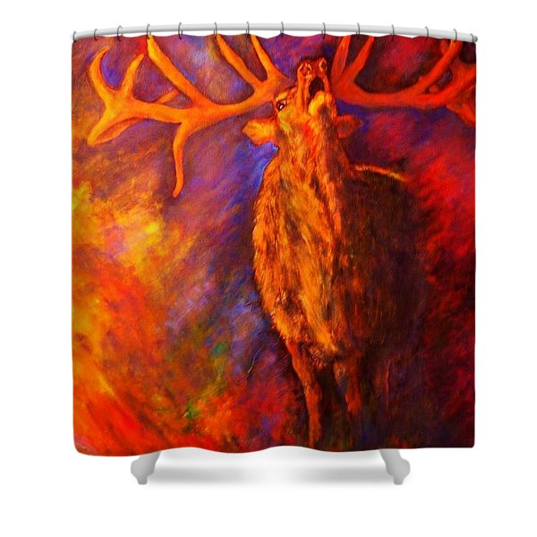 Autum-serenade Shower Curtain