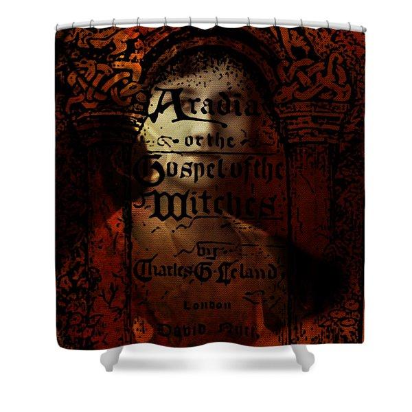 Autumn Aradia Witches Gospel Shower Curtain