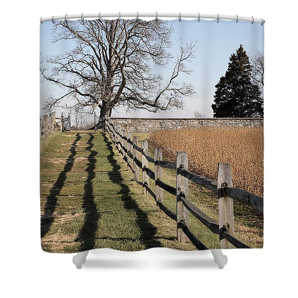 Autumn At Antietam Shower Curtain