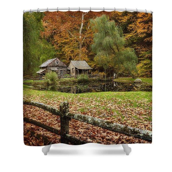 Autumn At Cuttalossa Farm V Shower Curtain