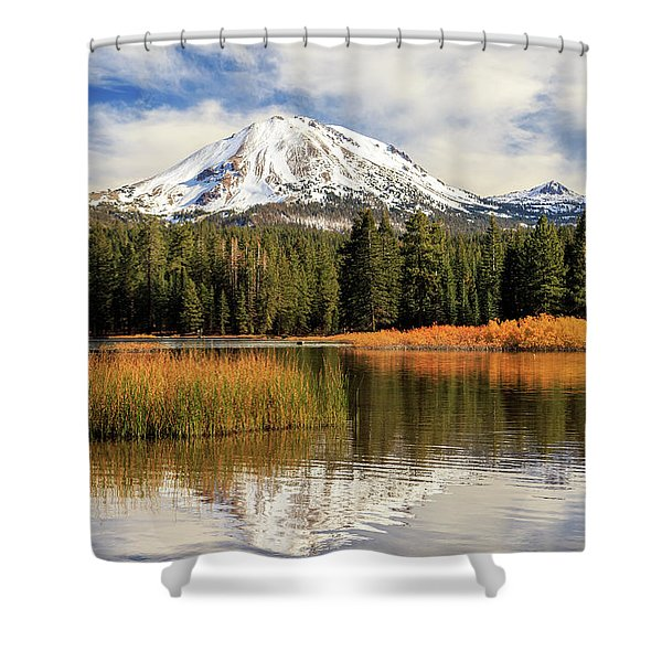 Autumn At Mount Lassen Shower Curtain