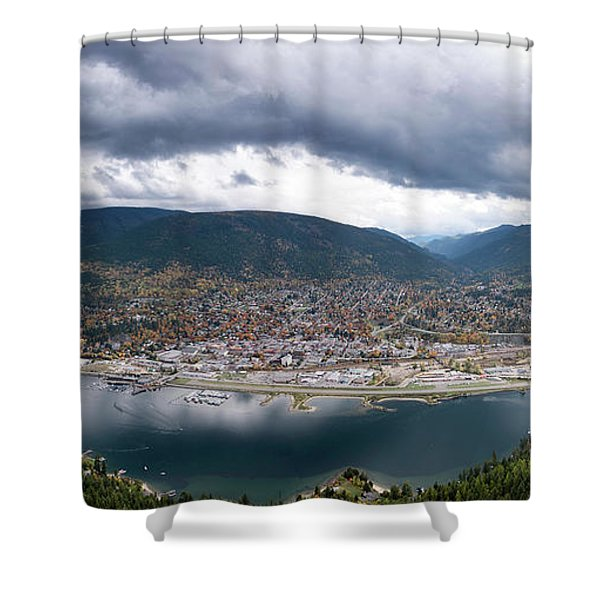 Autumn At Nelson Shower Curtain