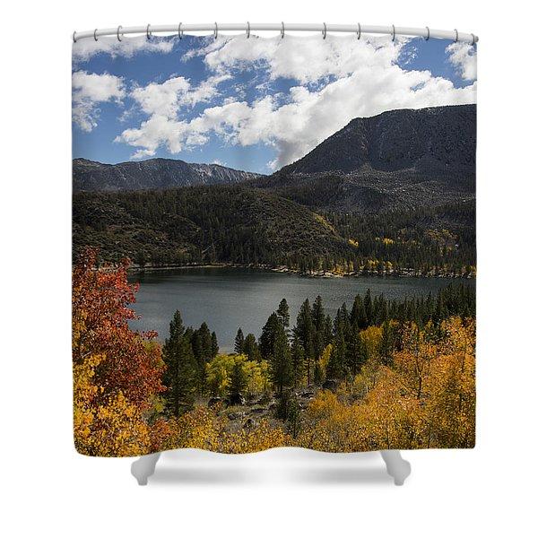 Autumn At Rock Creek Lake 2 Shower Curtain