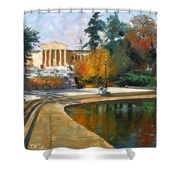 Autumn By Delaware Lake Shower Curtain