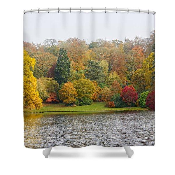 Autumn Colous Shower Curtain