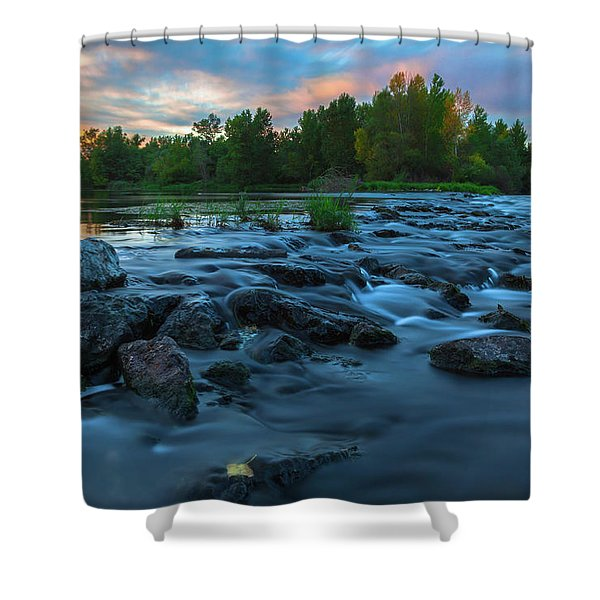 Autumn Comes Shower Curtain