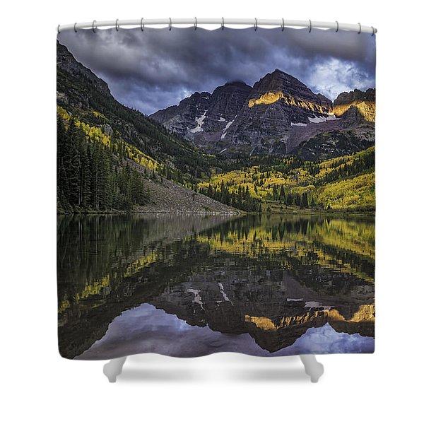 Autumn Dawn Shower Curtain