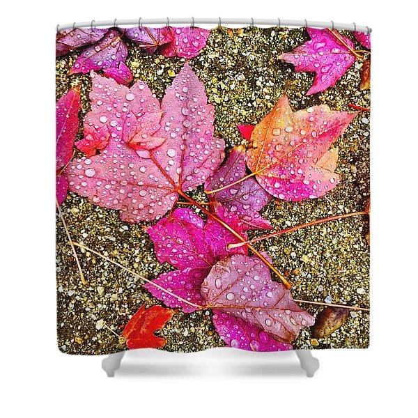Autumn Dew Shower Curtain
