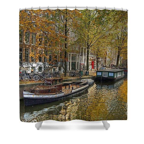 Autumn In Amsterdam Shower Curtain