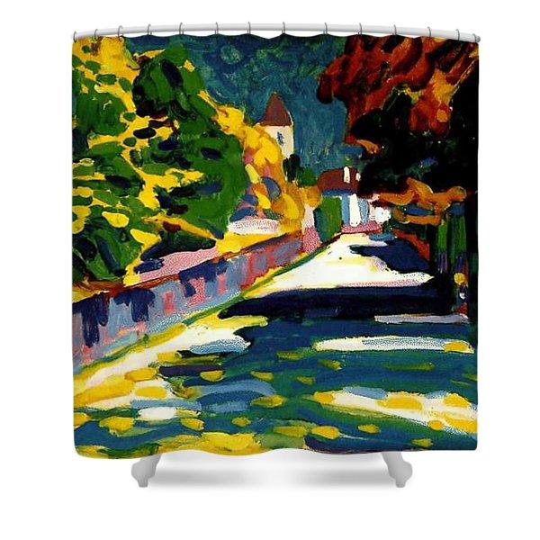 Autumn In Bavaria Shower Curtain