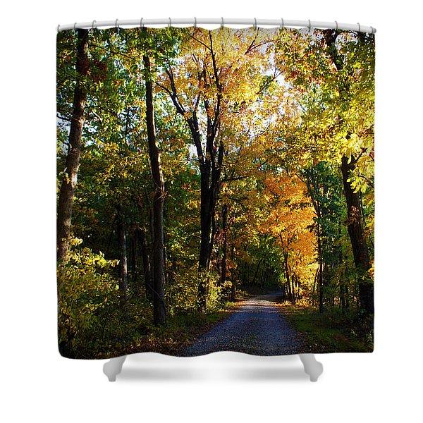 Autumn In Missouri Shower Curtain