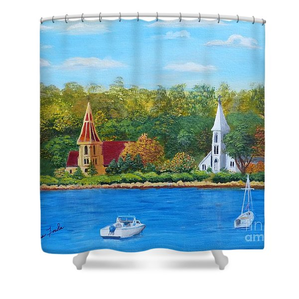 Autumn In Nova Scotia Shower Curtain