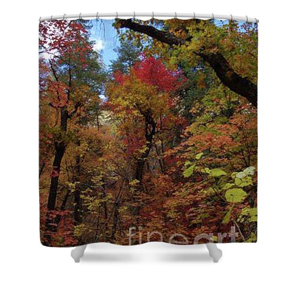 Autumn In Sedona Shower Curtain