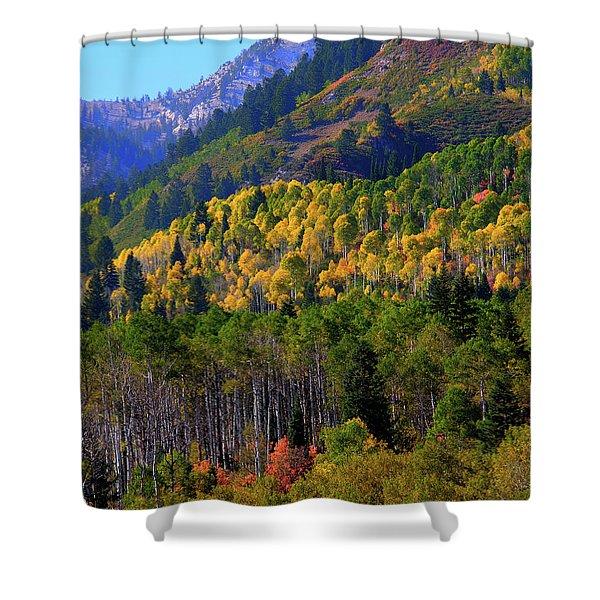 Autumn In Utah Shower Curtain