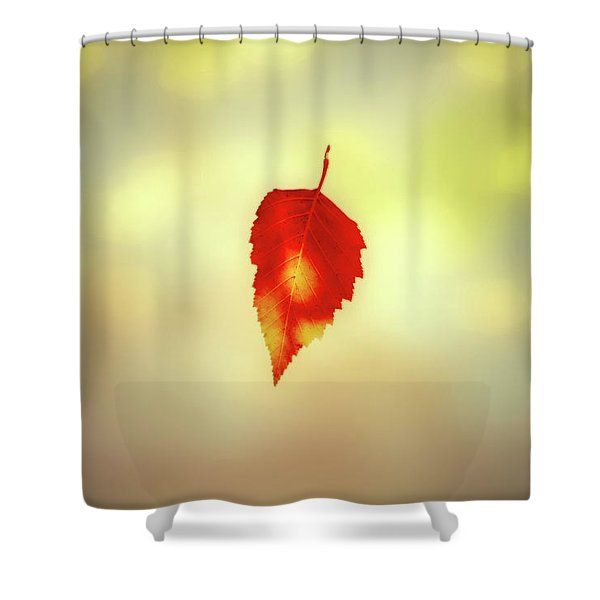 Autumn Leaf Shower Curtain