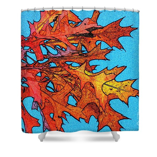 Autumn Leaves 14 Shower Curtain