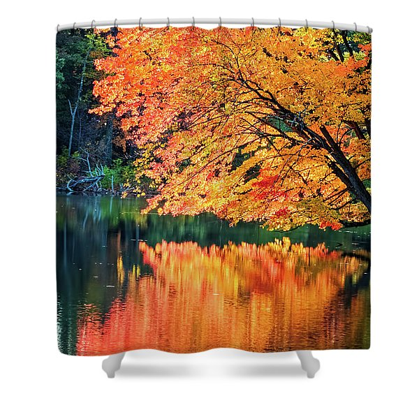 Autumn Magic Shower Curtain
