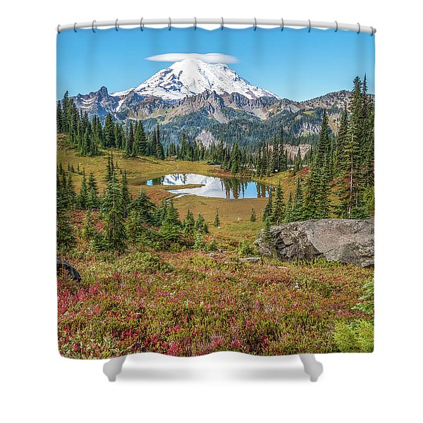 Autumn Meadow Shower Curtain