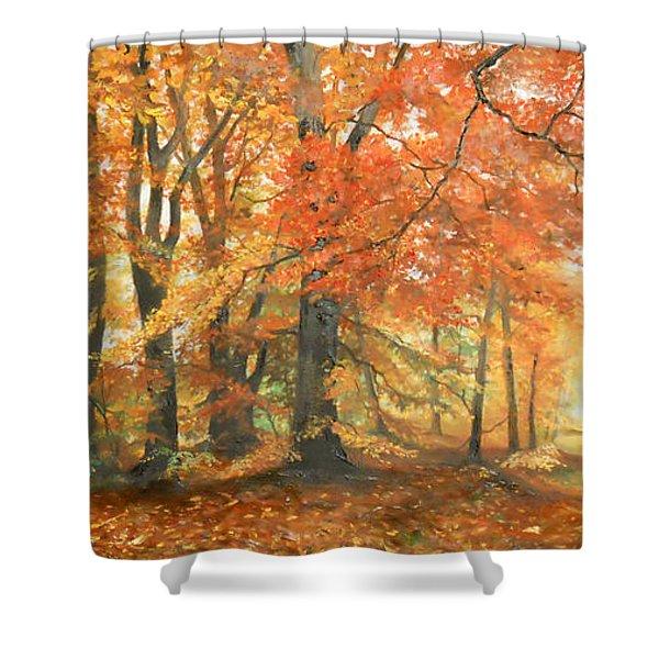 Autumn Mirage Shower Curtain