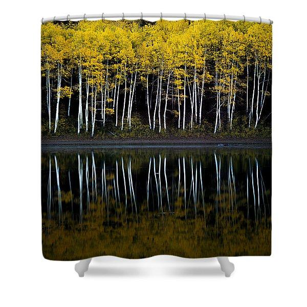 Autumn Mirror Shower Curtain